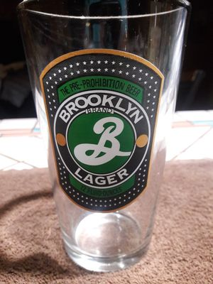 Collectible Brooklyn Lager glass for Sale in Phoenix, AZ
