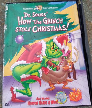 """ HOW THE GRINCH STOLE CHRISTMAS"" DVD ONLY $6.99 OBO for Sale in Miami, FL"