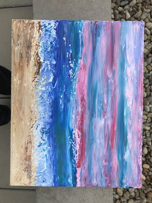 "Abstract Sea Scape Painting 16x20"" for Sale in Columbus, OH"