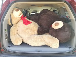 Oversized teddy bears for Sale in Suffolk, VA