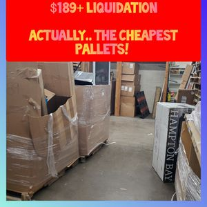 $189+ Pallets of Liquidation/Wholesale ( AMAZON WOOT EBAY HOME DEPOT LOWES) for Sale in Phoenix, AZ