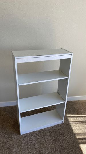 Modern white shelf furniture for Sale in San Jose, CA