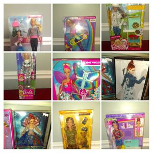 New Barbies - Lot of 9 Barbie Dolls - 2 Light Up. All 9 Barbies for $95 Firm for Sale in Smithville, TN