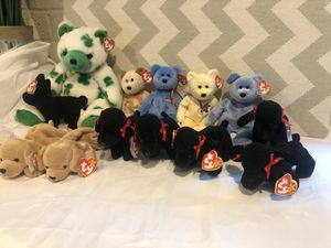 Retired beanie baby collection for Sale in Auburn, WA