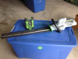 Hedge Trimmer with Battery for Sale in Galloway, OH