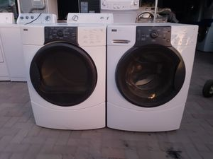Kenmore elite he3 washer and gas dryer for Sale in San Marcos, CA