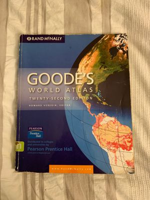 Goode's World Atlas for Sale in Rialto, CA