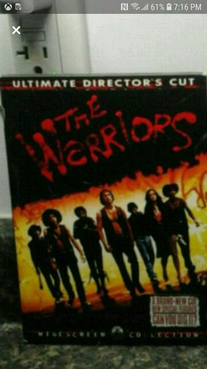 The Warriors Dvd for Sale in Springfield, MA