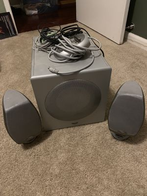 Klipsch iPod dock, aux, pc speakers for Sale in Suisun City, CA