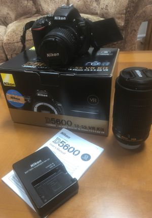Nikon D5600 lens Bundle camera DSLR for Sale in Glenn Dale, MD