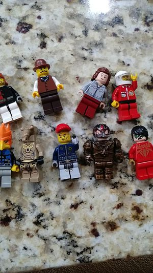 9 lego people for Sale in Miami, FL