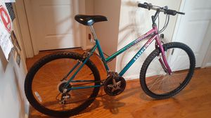Huffy Wild River mountain bike 26 inch 18 speed good condition for Sale in Virginia Beach, VA