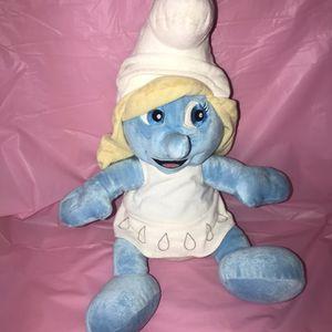 "2011 Smurfette 16"" Plush Stuffed Animal Figure Smurfs Build-A-Bear Workshop for Sale in Terrell, TX"