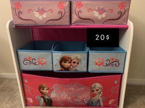 Arrange kids belongings toys organizer for Sale in Nottingham, MD