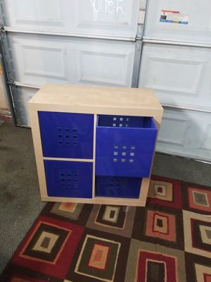 Ikea solid cube shelf, 31 inch sq. By 15 1/2 deep for Sale in Norfolk, VA
