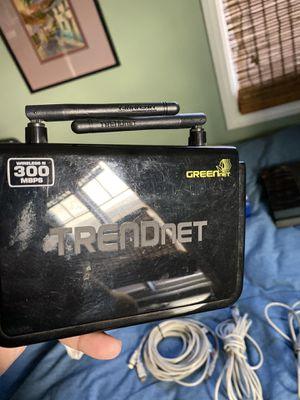 Trendnet Wifi wireless n router for Sale in Long Beach, CA