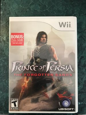 Prince Of Persia: The Forgotten Sands - Wii for Sale in Clayton, NC