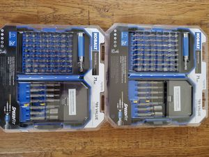 Brand new Kobalt 71 pc impact drill & drive set Check my page for Sale in Auburn, WA