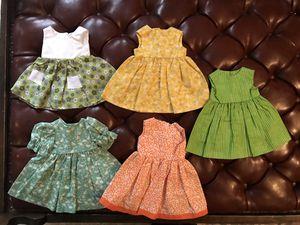 American Girl dresses - handmade $5 each for Sale in Missoula, MT