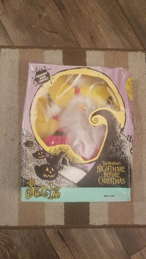ORIGINAL NIGHTMARE BEFORE CHRISTMAS SANTA DOLL possible hand puppet for Sale in San Jose, CA