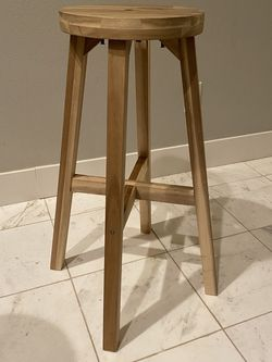 Bar stool, acacia 48x70 cm for Sale in Renton,  WA