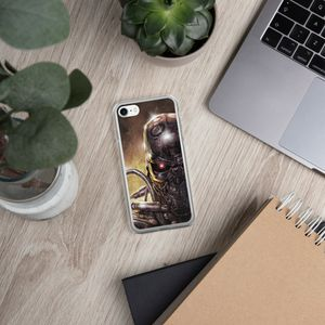 For Apple iPhone X/8/7 Plus Ultra Thin Terminator Clear Shockproof Case for Sale in Houston, TX