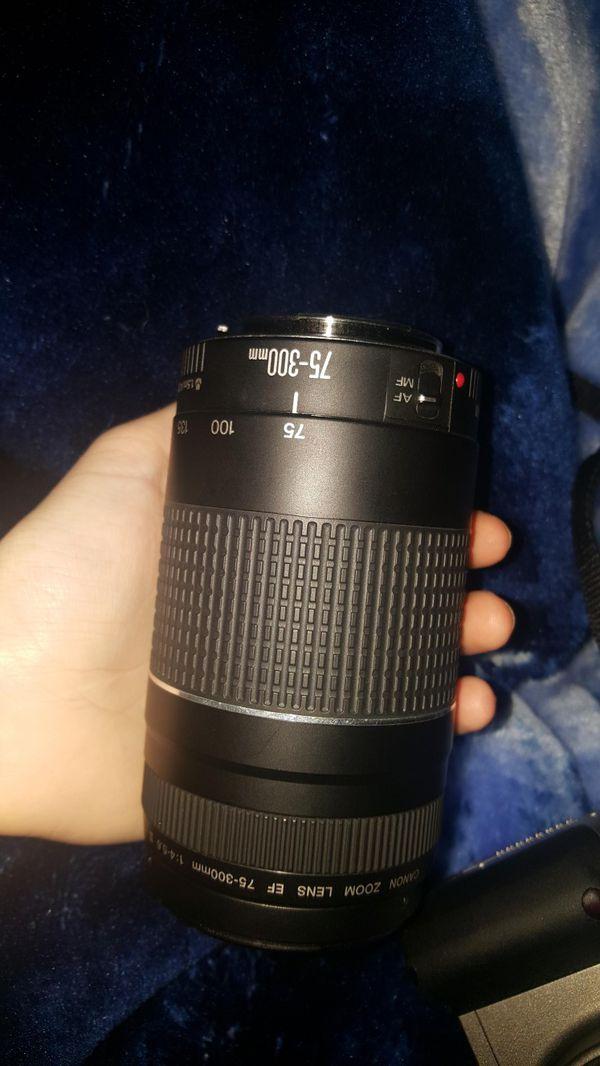 Canon EOS Digital Rebel XT Camera