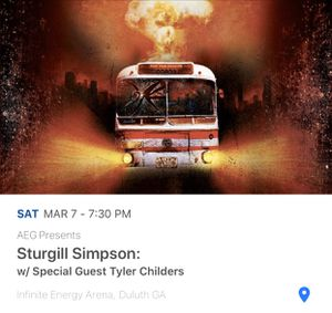 Sturgill Simpson Live in Duluth for Sale in Lawrenceville, GA