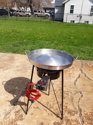 Comal de bola de acero inoxidable para tacos de carne for Sale in Aurora, IL