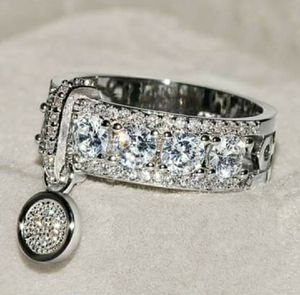 Unique 925 Sterling Silver Ring, Size 8 for Sale in Wichita, KS