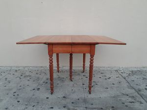 "Early 1900's Antique ""Park Furniture Company"" Drop Leaf Wood Dining Table for Sale in Los Angeles, CA"
