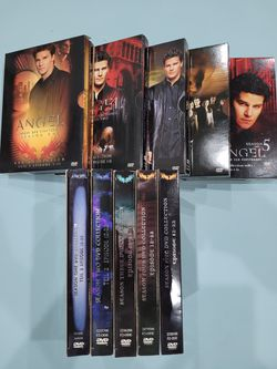 Angel Complete TV Series 5 Box Set DVD for Sale in El Paso,  TX