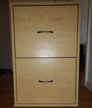 File Cabinet - Wood two drawer for Sale in Mesa, AZ