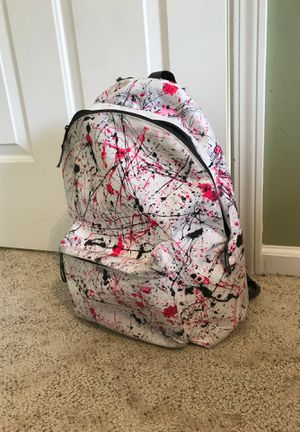 Paint Splattered Backpack for Sale in Walled Lake, MI