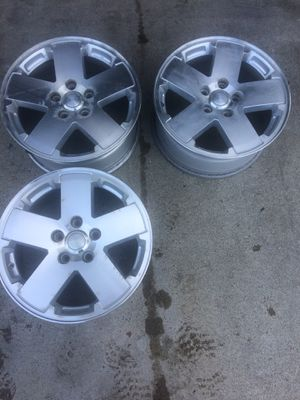 (FOUR) 2011 JEEP SAHARA 18IN. WHEELS for Sale in Sacramento, CA