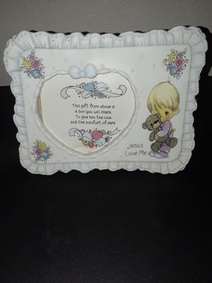 Precious Moments Jesus Loves Me Picture Frame for Sale in Tampa, FL