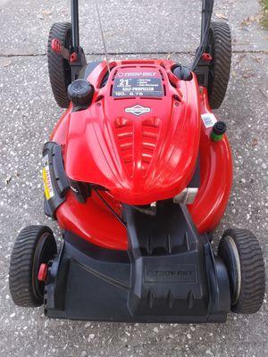 21 inch cut Troy-Bilt self-propelled lawn mower for Sale in St. Petersburg, FL