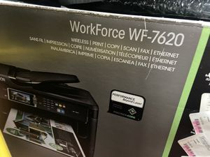 Hp workforceWF-7620 laser machines for Sale in New Rochelle, NY