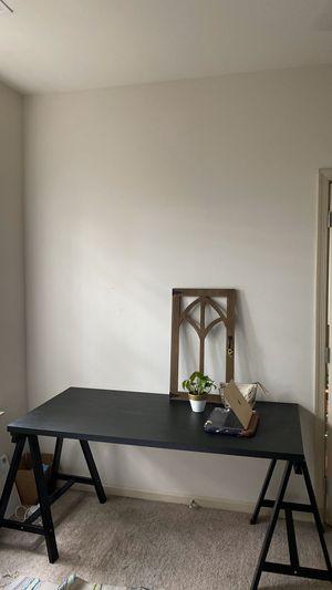 Black Ikea wooden desk / $45 for Sale in Fairfax, VA