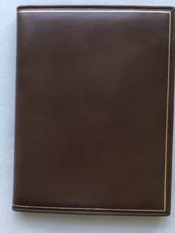 Tri Fold Leather Photo Frame/Portfolio for Sale in Haverford,  PA