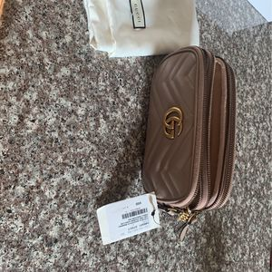 New Gucci Marmont Chain Bag In Porcelain Rose for Sale in City of Industry, CA