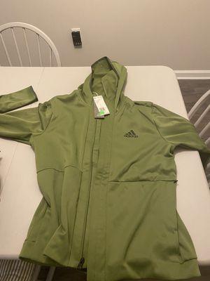 Adidas jacket/ hoodie Green Large never worn for Sale in Atlanta, GA