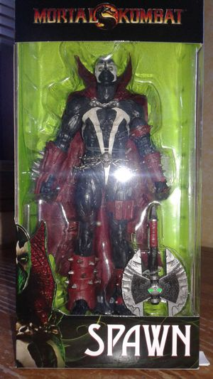 Mcfarlane mortal kombat spawn target exclusive collectible action figure for Sale in Berwyn, IL
