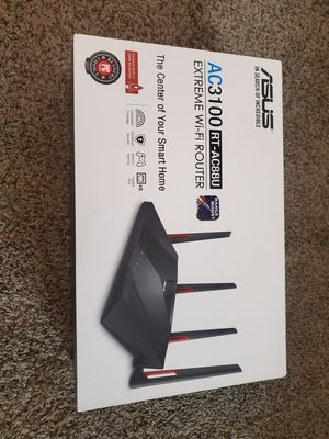 Asus AC3100 RT-AC88U Extreme WiFi Router for Sale in ROWLAND HGHTS, CA