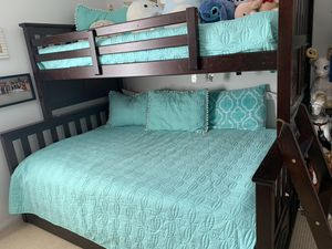 Bunk Bed with drawer/trundle underneath for Sale in Chula Vista, CA