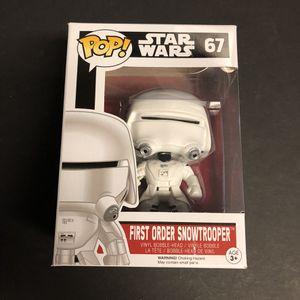 Funko Pop - Star Wars - First Order Snowtrooper for Sale in San Antonio, TX