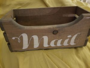 Farmhouse style home decor mail box for Sale in Arvada, CO