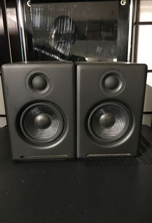 Audioengine A2+ Powered Computer Speakers Black for Sale in San Jose, CA