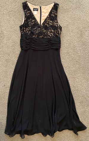 Formal Black Dress; size XL for Sale in Riverside, CA