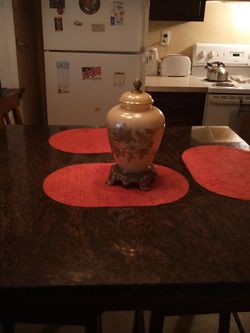 Vintage lamp For Night Time And Time Very Nice for Sale in Sicklerville,  NJ